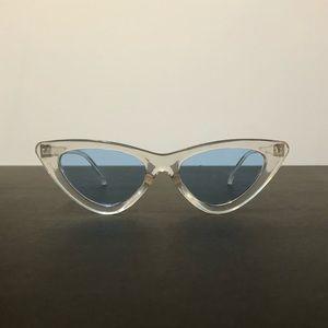 Transparent Cat Eye Retro Sunglasses